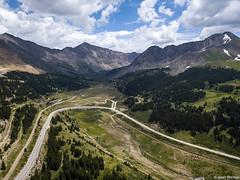 Fremont Pass (isaac.borrego) Tags: uploadedviaflickrqcom mountains clouds peaks climaxmolybdenummine fremontpass rockymountains colorado djimavicpro