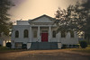 Attapulgus Methodist Church, built 1928 (Mike McCall) Tags: copyright2017mikemccall photography photo image southern georgia usa vernacular culture south america thesouth christian protestant church worship decatur county attapulgus neoclassical methodist historic 1830 1928 red door