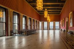 Inside Oslo City Hall (ESM Photographics) Tags: banquethall norway oslo oslocityhall oslorådhus pipervika interior hdr cityhall townhall hdrindoors