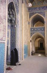 mjidyazd (bartlebooth) Tags: middleeast olympus superzoom70 2000 yazd iran masjed mosque persia islam chadoor