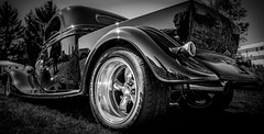 MOT_042 (Dave GRR) Tags: classic auto show motorfest pickup truck black white bw olympus omd em1 1240