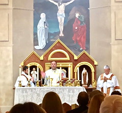 Installation of Fr. Vidrine 8-19-17