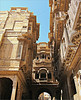 Hand carved Haveli's ,,,,,, Explore #43   4.8.2017 (Mary Faith.) Tags: haveli jaisalmer ragasthan india home sandstome carved hand city alley art craft explore perspective street architecture artisan employment tradesmen building terrace balcony archway arch lace artwork fancy historic tourism ancient hindu history