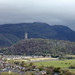 View from Stirling Castle to Forth River and Wallace Monument