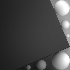 ECOS: Exploring compositions of shapes => Img. 12 (Michalis_Kalamenios) Tags: bw grey calm equilibrium exploring experimental graphic contrast computer white black simple minimal tones balance geometry geometrical monochrome ecos 3d render cgi art composition shapes light abstract
