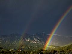 Arcobaleni (Fernando De March) Tags: arcobalenoarcobalenitemporalepioggianuvolespettroluce
