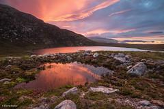 Scottish Feelings (davidbotta) Tags: scotland landscape sunset clouds colorful color purple epic explored backpacking storm drama dramatic