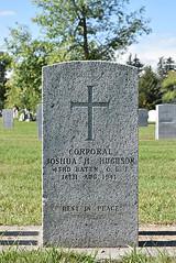 Headstone - Josiah Hamlett Hughson