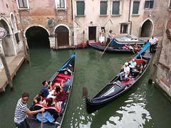 Gondola tours - Venice Italy (ashabot) Tags: venice veniceitaly gondola gondolatours venicecanal canal travel seetheworld streetscenes worldcities