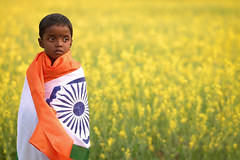 70 Years of Independence - Tryst with Inequality (pallab seth) Tags: जयहिंद india nation tricolour nationalflag bengal independenceday 2017 girl boy celebration indian child children kid kids india70 intolerance majoritarianism communalisation inequality polarised caste dalits distrust community