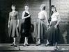 7817-10A0 (vintagesmoke) Tags: vintage movie still promo promotion girls loose women actress black white monochrome 1958 smoking cigarette