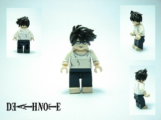 Lego custom Death Note: L