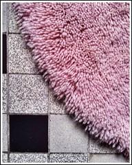 Bathroom I (rkm.heim) Tags: samsung galaxys2 red grey snapseed rug