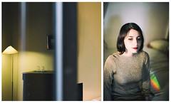 (Antonio Gutiérrez Pereira) Tags: antoniogutierrezfotografia dinamocoworking diptico retrato portrait mirada mujer soledad