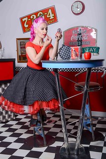 Kat Foxx Pinup Model with Michael Mills Photography