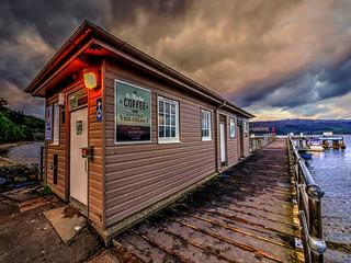 The Pierhouse, Luss Pier, Loch Lomond, Scotland