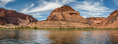Horseshoe Bend pano from the Colorado River (r_hoff2015b) Tags: horseshoebend coloradoriver arizona america panorama