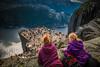 Prekestolen/Pulpitrock overview (Liv Annette) Tags: pulpitrock pulpit preikestolen prekestolen norway norge travel touristm mountain visitnorway lanscape view fjord rogaland forsand