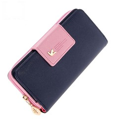Fashion Wallet Women Luxury, Leather Zipper Purse Card Holders Clutch Money Bag (Women's Bag Club) Tags: handbags wallets backpacks cosmetic bags cosmeticbags buckets shoulderbags wristlets clutches travelbags crossbodybags eveningbags makeupbags purse bagparts accessories fashionstyle beautiful happy summer girl style luxury totebag designerhandbags