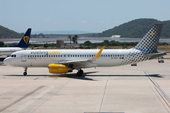 Vueling A320 (Martyn Cartledge / www.aspphotography.net) Tags: 320 a320 aero aeroplane air airbus aircraft airfield airline airliner airplane airport aviation civil ecmjc espana espania españa espańa flight fly flying ibiza ibz island jet plane spain sun sunny transport vueling wings wwwaspphotographynet asp photography