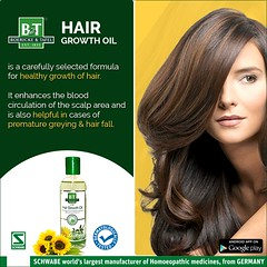 Best homeopathic oil for hair growth at Schwabe India (Schwabe India) Tags: homeopathic oil for hair growth