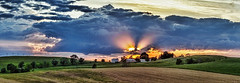 IMG_3705-08Ptzl1TBbLGER (ultravivid imaging) Tags: ultravividimaging ultra vivid imaging ultravivid colorful canon canon5dmk2 clouds fields farm pennsylvania pa panoramic summer scenic sunsetclouds sunset evening