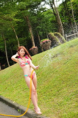 Sherry0011 (Mike (JPG直出~ 這就是我的忍道XD)) Tags: sherry 自來水博物館 d300 model beauty 外拍 portrait 2014 swimsuit 泳裝