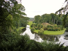 Fountains Abbey and Studley Royal Water Garden- National Trust (rossendale2016) Tags: place resting form walk path road hill steep fields woods water tall surprising high platform viewing view yorkshire ripon abbey fountains