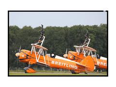 Scampton 2017 Breitling Wing Walkers (Marks CVS) Tags: raf scampton 2017 airshow breitling wingwalkers boeing stearman biplane