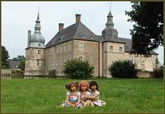 Ein Tag im Schlosspark ... (Kindergartenkinder) Tags: sommer blumen personen kindergartenkinder garten blume park annette himstedt dolls sanrike wasserschlosslembeck setina milina