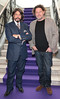 Laurence Llewelyn Bowen and Marco Pierre White pictured as TV3 unveiled its programming plans for Autumn 2017 at The National Concert Hall, Dublin. Pictures: Brian McEvoy