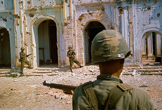 Vietnam War 1966 - Soldiers from the Republic of Korea's White Horse Division 2nd Corps