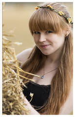 Zoe hiding behind the haystack (theimagebusiness) Tags: theimagebusinesscouk theimagebusiness photography zow model scotland westlothian redhair redhead ginger auburn autumn hay field farm outdoors outside location portrait portfolio modelportfolio attractive beauty cute d810 eyes eyecontact gaze soul blueeyes momentintime modelling nikon nature natural naturalbeauty pretty people petite rural uk visitscotland woman youngwoman
