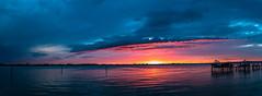 aftertherain-1 (charlidino) Tags: aftertherain beach blue florida nature naturephotography ocean orange red summer sunrise sunset