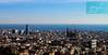 Barcelona desde el Park Güell (Cataluña / España) (jsg²) Tags: postalesdelmusiú barcelona cataluña españa jsg2 fotografíasjohnnygomes johnnygomes fotosjsg2 viajes travel unióneuropea europa europe ue europeanunion reinodeespaña español española spain principadodecataluña catalunya catalonha catalán ciudadcondal barna bcn larosadefoc penínsulaibérica iberianpeninsula parquegüell parcgüell parkgüell distritodegracia lasalud lasalut teatregrec plaçadelanatura marmediterráneo mediterraneansea torreagbar torreglòries temploexpiatoriodelasagradafamilia empleexpiatoridelasagradafamília sagradafamilia ensanche