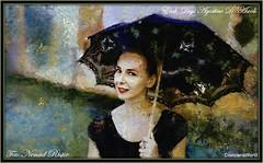 Lady in Venice - (agostinodascoli) Tags: art digitalart digitalpainting nenadristic agostinodascoli texture donna modella colore fullcolor impressionismo venezia photoshop photopainting