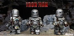 Iron Man Mark I (McLovin1309) Tags: iron man tony stark custom lego minifig minifigure minifigures amazing armory customs sculpt marvel comic comics superhero mark 1 mk toy toys fdsflickrtoys