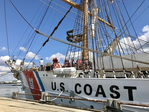 The Coast Guard has a tall ship - The Eagle