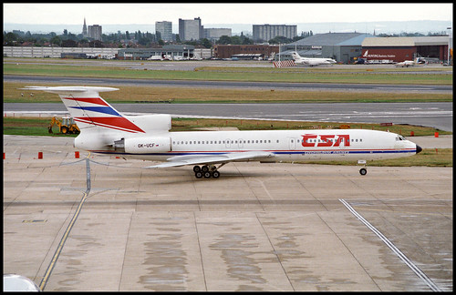 OK-UCF - London Heathrow (LHR) 27.07.1993