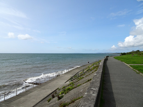 Criccieth waterfront