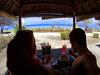 A typical lunch in paradise on Gili Meno Island at Ya Ya Warung Restaurant (VINJABOND.COM) Tags: paradise island travel wanderlust hedonism lunch food gili beach indonesia bali vinjabond