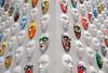 Streets of Milan (STE) Tags: milano milan street fuji fujifilm xt20 alessandro bertolazzi maschere masks installazione facce faces rinascente mybestabstract