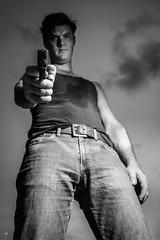 (Fidere) Tags: moody portrait male black white monochrome dramatic killer noir d750 nikon narrative