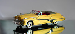 1949 Buick Roadmaster (PrunellaCara) Tags: modelcar stilllife yellow object