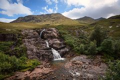 Falls of Glencoe (ianrwmccracken) Tags: rock d750 scenery waterfall river tree nikon glencoe landscape scotland hill nikkor1635mmf4 mountain