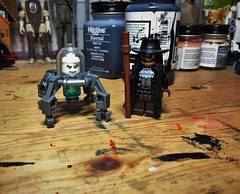 Welcome to The Food Chain . . . (LordAllo) Tags: lego the new adventures batman animated series mister mr freeze scarecrow