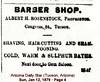 SHAMPOONING in the Arizona Daily Star (Tucson, Arizona) · Sun, Jan 12, 1879 · Page 4 (lasertrimman) Tags: arizonadailystartucson arizona·sun jan12 1879·page4 arizona·sunjan121879·page4 arizona daily star tucson · sun jan 12 1879 page 4 arizonadailystar tucsonarizona jan121879 page4 advertisement barbershop shampooning sulpherbaths rosenstock 18790112 barber shop alberthrosenstock proprietor gem saloon gemsaloon