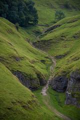 Shapes carved in the land (ola_er) Tags: peakdistrict landscape valley travel nikon sigma green