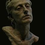 Easy Clay Sculptures : Eran Webber - La Dama delle Mele - 2011 - plaster.... thumbnail