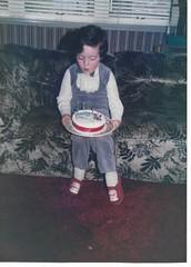 Birthday Boy. (kingsie82) Tags: birthday boy 4 1986 cake candles celebrate celebration family fun laugh love enjoy smile pather wishaw lanarkshire scotland